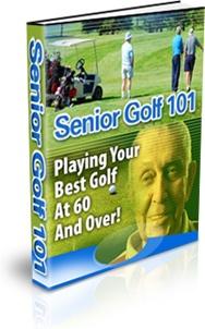 Ebook cover: Senior Golf 101