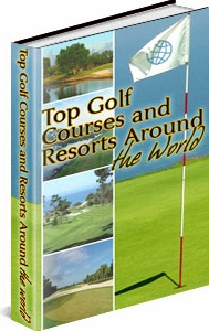 Ebook cover: Top Golf Clubs and Resorts in the World
