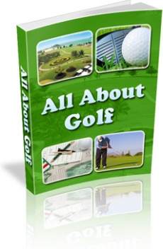 Ebook cover: All About Golf