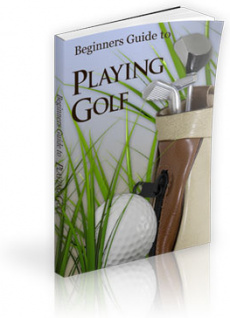 Ebook cover: Beginner's Guide to Playing Golf
