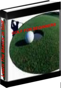 Ebook cover: THE AMATEURS GOLF LESSON FOR BEGINNERS