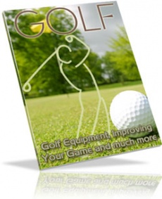 Ebook cover: THE GAME OF GOLF