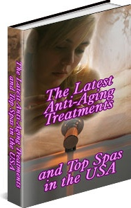 Ebook cover: Anti-Aging Treatments and Top Spas in the USA