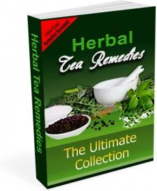 Ebook cover: Herbal Tea Remedies