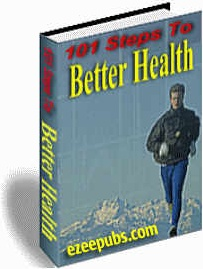 Ebook cover: 101 Steps To Better Health