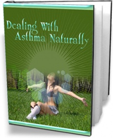 Ebook cover: Dealing With Asthma Naturally