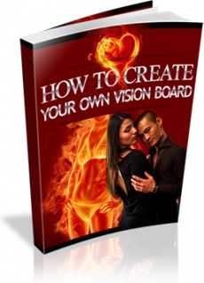 Ebook cover: How To Create Your Own Vision Board