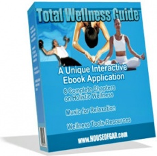 Ebook cover: Total wellness Guide