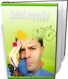 Ebook cover: Natural Depression Cures