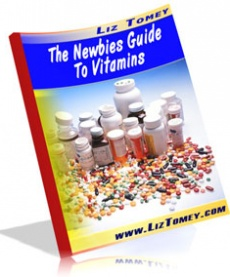 Ebook cover: The Newbies Guide To Vitamins
