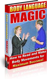 Ebook cover: Body Language Magic