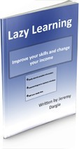 Ebook cover: Lazy Learnin