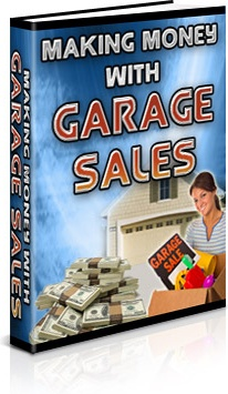 Ebook cover: Making Money With Garage Sales