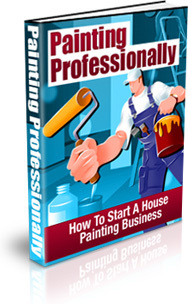 Ebook cover: Painting Professionally