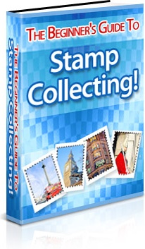 Ebook cover: The Beginners Guide to Stamp Collecting