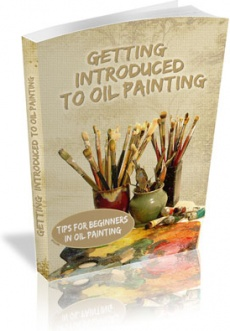 Ebook cover: Getting Introduced to Oil Painting