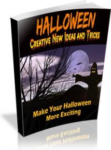 Ebook cover: Halloween - Creative New Ideas and Tricks