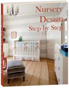 Ebook cover: Nursery Design Step by Step