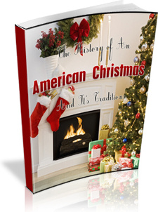 Ebook cover: The History of the American Christmas And Its Traditions