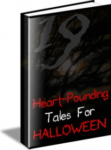 Ebook cover: Heart-Pounding Tales For Halloween