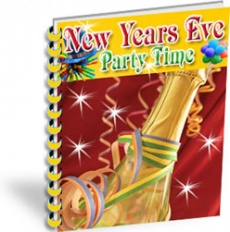 Ebook cover: New Years Eve Party Time