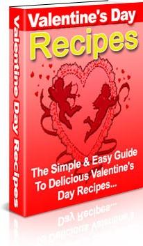 Ebook cover: Valentine's Day Recipes