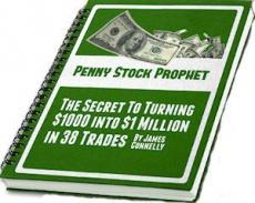 Ebook cover: Penny Stock Prophet Weekly Alert Newsletter