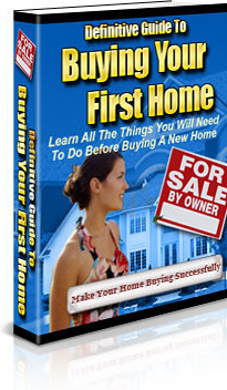 Ebook cover: Buying Your First Home