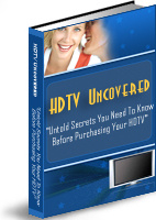 Ebook cover: HDTV Uncovered Secrets