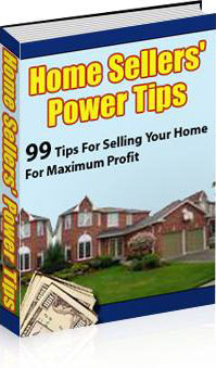 Ebook cover: Home Sellers Power Tips