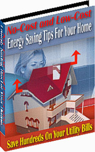 Ebook cover: Energy Saving Tips For Your Home