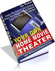 Ebook cover: Your Own Home Movie Theater