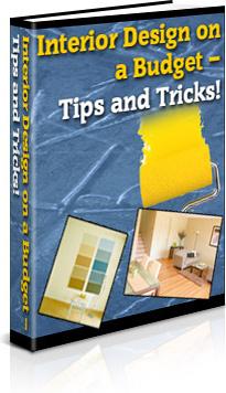 Ebook cover: Interior Design on a Budget