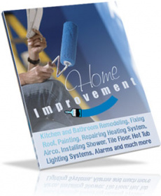 Ebook cover: REMODELING and HOME IMPROVEMENT