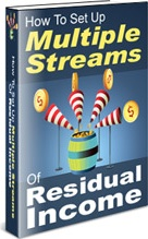 Ebook cover: How To Set Up Multiple Streams Of Residual Income