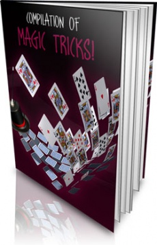 Ebook cover: Compilation of Magic Tricks