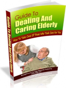 Ebook cover: Guide To Dealing And Caring Elderly