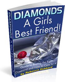 Ebook cover: Diamonds - A Girls Best Friend!