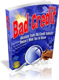 Ebook cover: Bad Credit: Absolute Truth the Credit Industry Doesn't Want You to Know