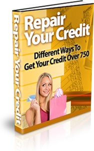 Ebook cover: Repair Your Credit
