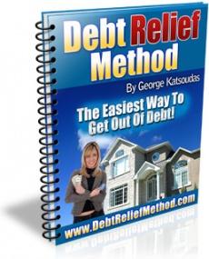 Ebook cover: Debt Relief Method