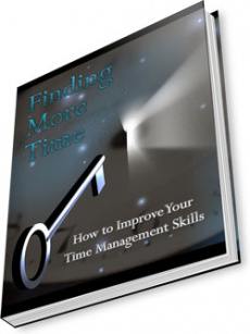 Ebook cover: Finding More Time