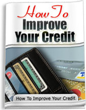 Ebook cover: How to Improve Your Credit