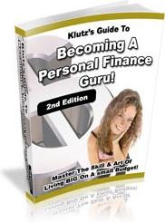 Ebook cover: Personal Finance Guru