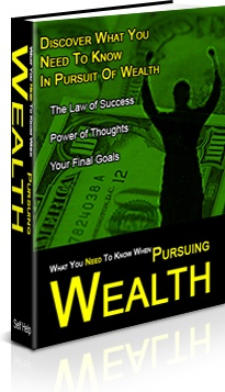 Ebook cover: The Secrets Of Pursuing Wealth