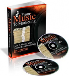 Ebook cover: From Music To Marketing