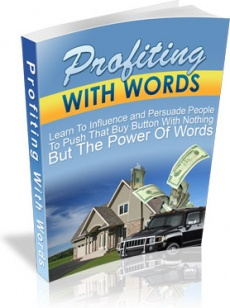Ebook cover: Profiting With Words