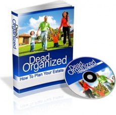 Ebook cover: Dead Organized