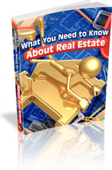Ebook cover: What You Need to Know About Real Estate