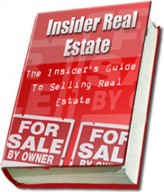 Ebook cover: The Insiders Guide To Selling Real Estate